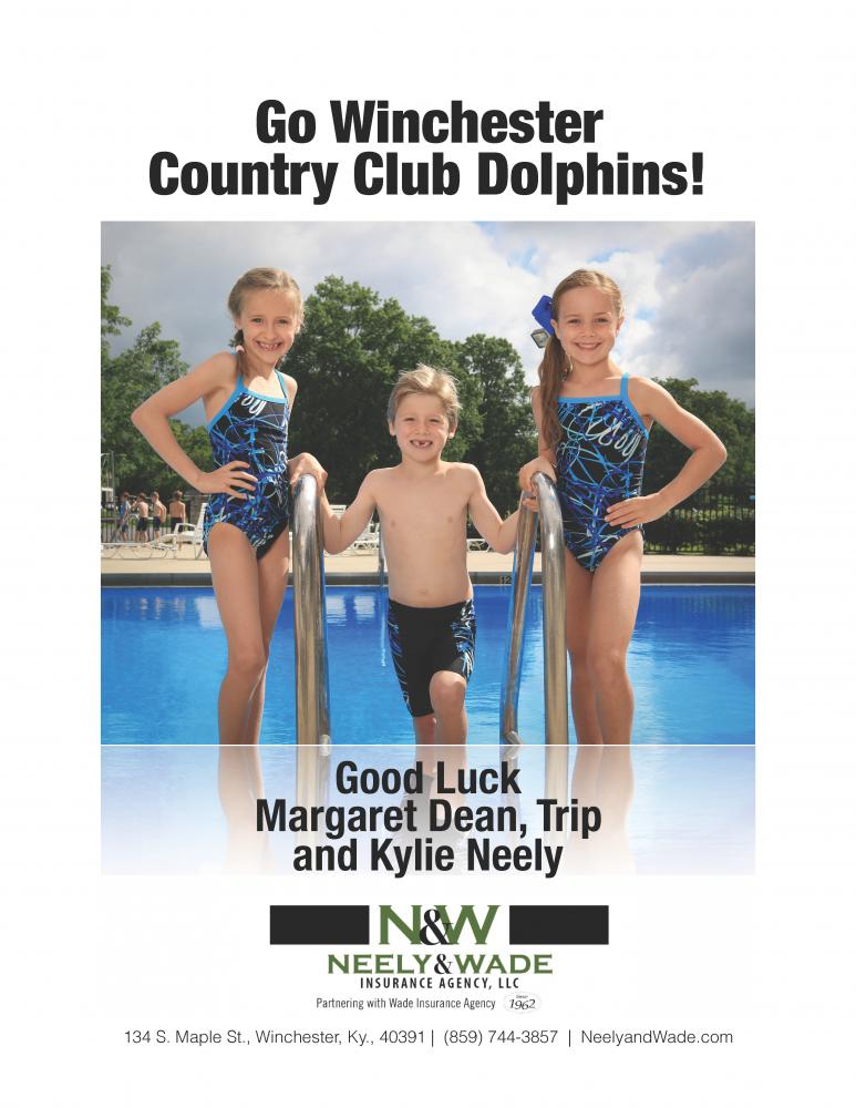 Neely Insurance Agency Swim Ad 2017